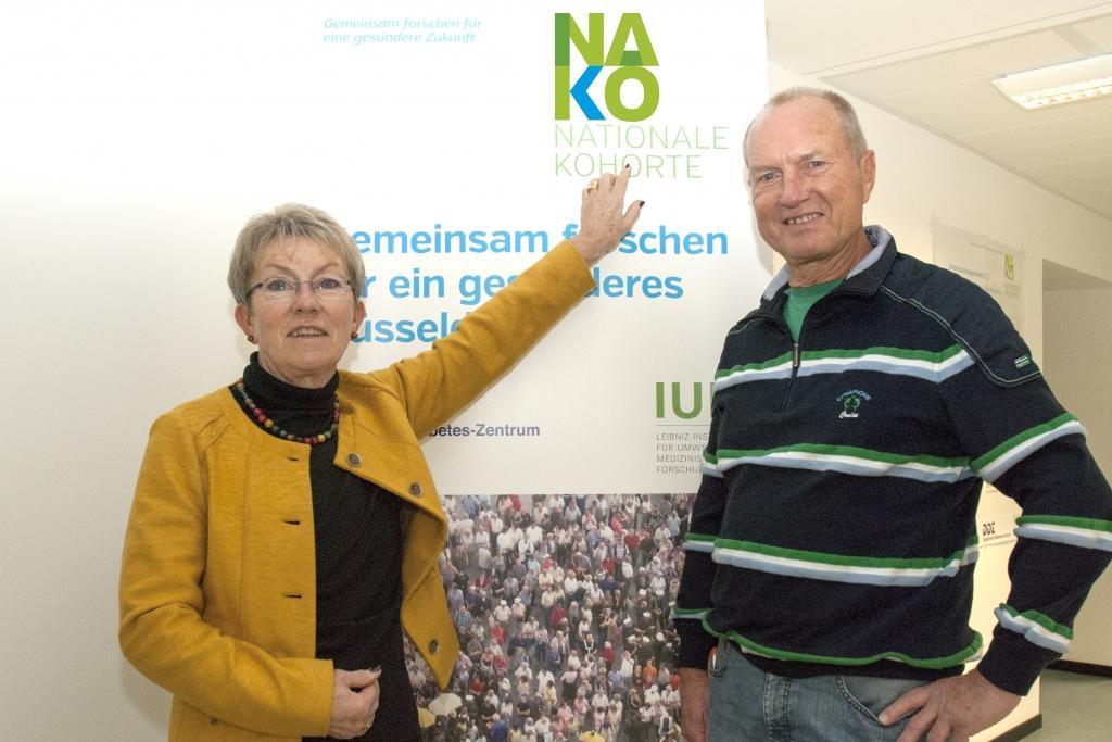 Eheleute Werner gemeinsam bei der NAKO-Gesundheitsstudie