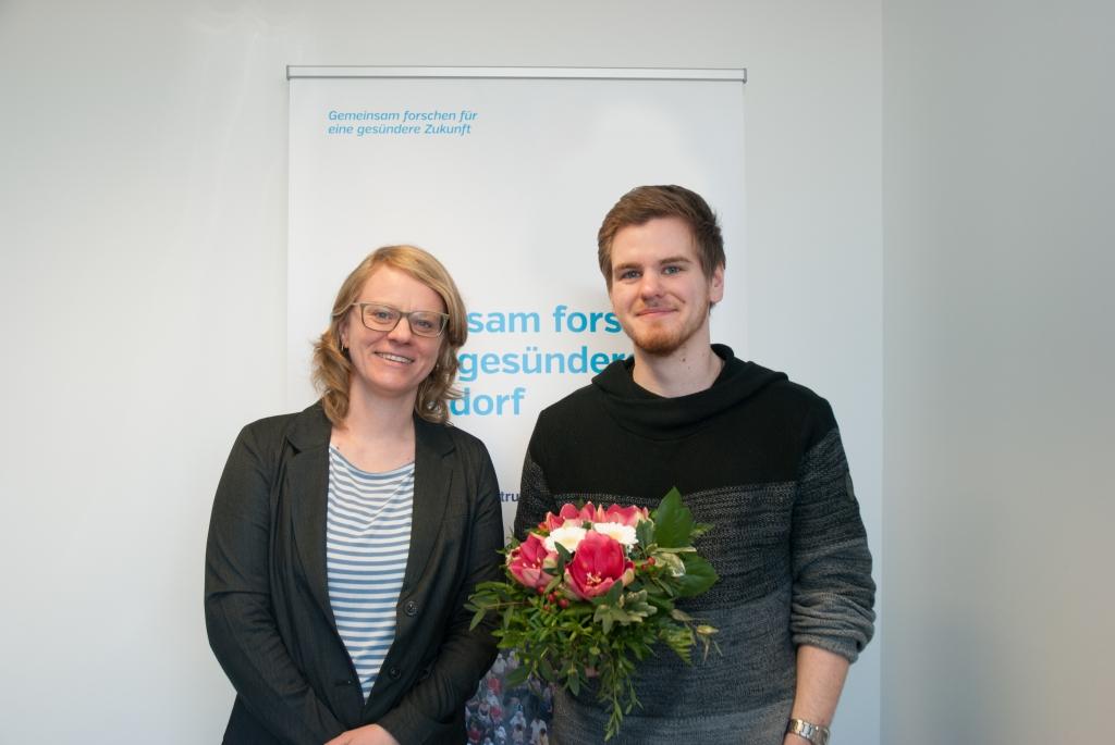 Der 3000ste Teilnehmer im NAKO-Studienzentrum Düsseldorf