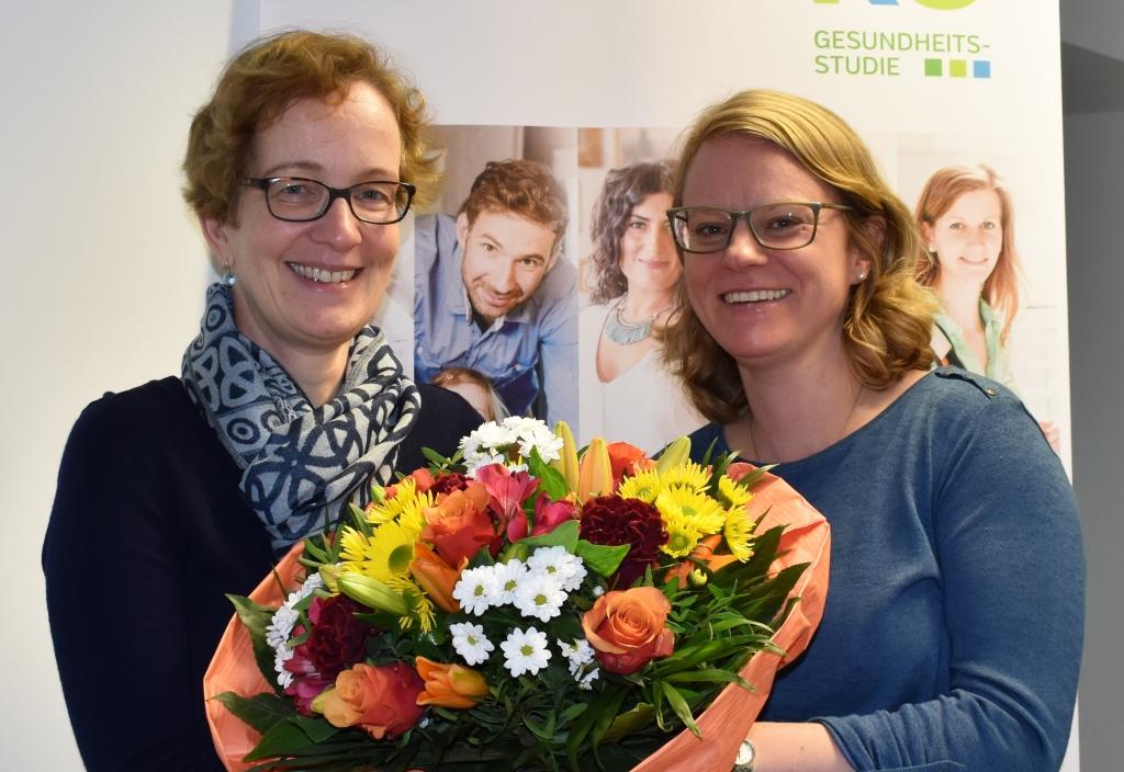 Die 5000ste Teilnehmerin im Studienzentrum Düsseldorf