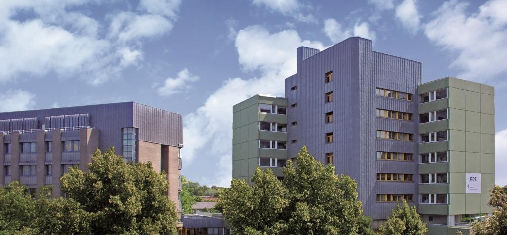 Das Gebäude des Deutschen Diabetes-Zentrums, Sitz des NAKO-Studienzentrum Düsseldorf